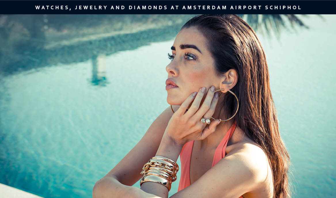 Watches, jewelry and diamonds at Amsterdam Airport Schiphol